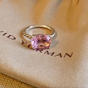 David Yurman Pink Morganite Ring